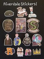RIVERDALE 15 PCE Stickers Vinyl TV PC Party Favour Lolly Loot Bag Girl Decal
