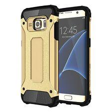 Coque ETUI HOUSSE Cover Protection pour Samsung galaxy S7 Edge Doré