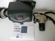 OLYMPUS CAMEDIA C-2500L DSLR Camera 2.5MP AF Zoom Lens + Case & Access Untested