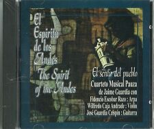 El Espíritu De Los Andes El Sentir Del Pueblo  Latin Music CD