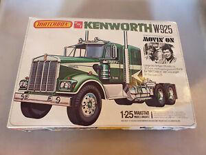 Kenworth W-925 Truck Watkins 1:25 Matchbox AMT Model Kit Bausatz PK-6120