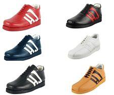 LibertyZeno Men's Genuine Leather High Top Moc Toe Desert Chukka Casual Boots