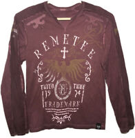 Vintage 1974 Remetee Trademark  Graphic Long Sleeves t Shirt Men's Size L