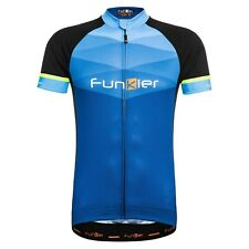 Funkier Men's Spoleto Blue Short Sleeve Jersey Large - New (PRICE DROP)