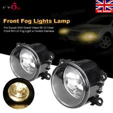 1 Pair Front Fog Lights w/ Switch Harness For Suzuki SX4 Grand Vitara 06-12