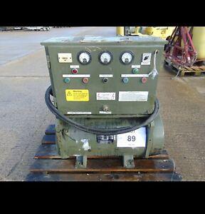 Uk Army Aircraft Or Boat Inverter 400hz 3 Phase Power.   15Kva