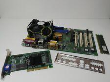 KIT ASRock P4i45e CPU P4 2.8Ghz 512MB scheda video retrogaming 4x PCI