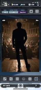 Topps Star Wars Digital Card Trader Solo Distant Dystopia Han Solo Insert