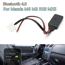 1Pcs Bluetooth 4.0 Audio Adapter Car AUX Audio Cable For Mazda M6 M3 RX8 MX5