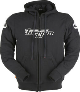 Furygan Luxio Motorcycle Zip Hoodie Black