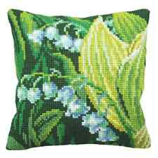 Lily of the ValleyR-Large Holed Tapestry Cushion Kit Printed Chunky Cross Stitch
