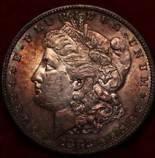 Uncirculated 1882-S San Francisco Mint Silver Morgan Dollar Toned