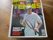 April Tennis Magazines in English