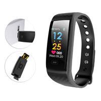 Smart Bracelet Watch Wristband Heart Rate Blood Pressure Sport Fitness Tracker