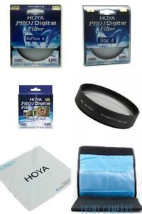 Hoya Pro 1 55mm Special Effects Kit - Includes: Soft A, Star 4 & Close Up No 3