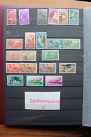 LOT STAMPS COLONIES SPAIN TOPICAL ANIMALS BIRDS BUTTERFLIES MNH** (coH)