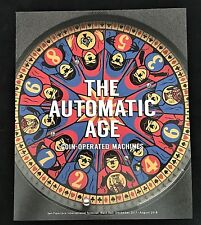 2017-18 The Automatic Age Coin-Operated Machines SFO Museum Airport Brochure