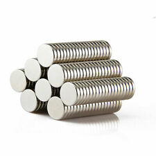 1-500x Super Strong Cylinder Round Disc Magnets Rare Earth Neodymium N52/N50/N35