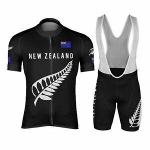 Silver Fern New Zealand Cycling Jersey and  Bib Short Set