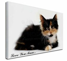 More details for cute tortie kitten 'love you mum' x-large 30