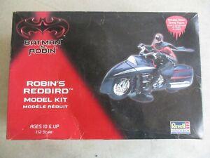 VINTAGE 1997 REVELL BATMAN & ROBIN ROBIN'S REDBIRD 1:12 SCALE MODEL KIT IN BOX