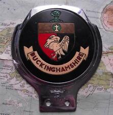 Used Chrome Car Mascot Badge : Buckinghamshire by Renamel