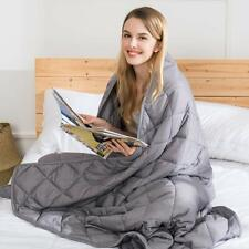 jaymag Weighted Blanket for Adult/Teenager - Heavy Bl Twin Size Weighted Blanket