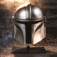 The Mandalorian Cosplay Mask Resin Helmet Halloween Costume Props Dress Up Men
