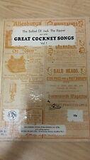 Great Cockney Songs: Volume 1: Music Score (D4)