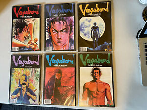 lot of 6 Vagabond Manga English Takehiko Inoue VIZ comics #11 thru #16