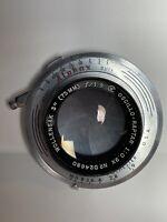 """Wollensak 3"""" 75mm f1.9 Oscillo-Raptar 1:0.9X Lens Alphax Shutter D24680"""
