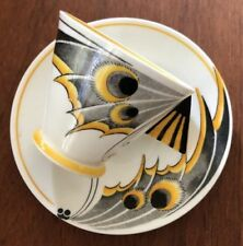 Coffee Cup & Saucer Art Deco Shelley Porcelain & China