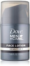 Lot of 24 - Dove Men Care Face Lotion Sensitive Skin 1.69 oz Each