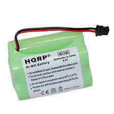 HQRP 2200mAh 4.8V Battery for Uniden BP120 BP150 BP180 BP250 Bearcat Sportcat