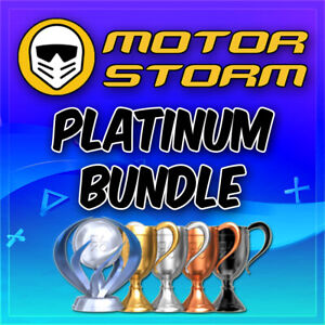🔥MotorStorm Platinum Trophy Bundle Apocalypse, Pacific +More PSN/PS3/PS4/VITA🔥