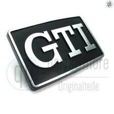 Original VW Emblem Schriftzug GTI Seitenblinker Golf 2 Jetta schwarz chrom