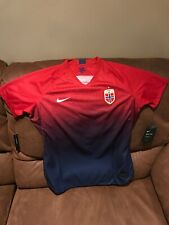 Nike Norge Noruega Soccer Jersey Msrp$90.00 NWT Size Large Womens