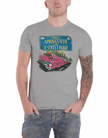 Bruce Springsteen T Shirt Pink Cadillac US Tour new Official Mens Heather Grey