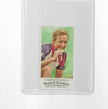 2009 TOPPS ALLEN & GINTER CYCLING CHAMPION A & G BACK KRISTIN ARMSTRONG MINI #23