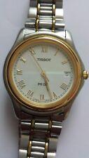 Vintage Tissot PR50 Quartz Stainless Steel Two Tone Mens Watch