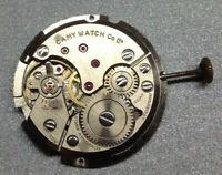Peseux cal. 7050 vintage gents watch movement -Ticking - Restoration