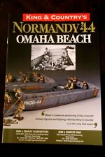 King and Country Normandy '44 Omaha Beach World War 2 soldier brochure