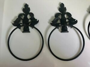 Fancy Window Scarf Holder Set 2