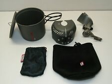 Primus Express Stove Ti & TiTech Titanium Cookset Pan/Wind Shield/Burner 324700