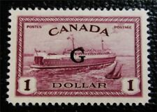 nystamps Canada Official Stamp # O25 Mint OG H UN$120 VF
