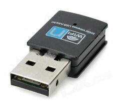 Adaptador Inalámbrico WIFI 300 Mbps 802.11 B G N USB Dongle Adaptador De Red Lan Wps