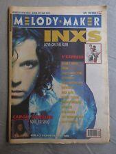 MELODY MAKER 1st September 1990 ~ Inxs ~ The Fall ~ Caron Wheeler!
