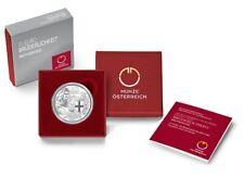 Österreich 10 Euro Silber PP 2021  Brüderlichkeit