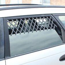 2 x universell Tier Autofenster Lüftungsgitter geeignet Schutz für Hunde Welpe