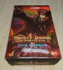 1/6 Hot Toys At World's End Captain Jack Sparrow MMS42 Empty Box Damaged